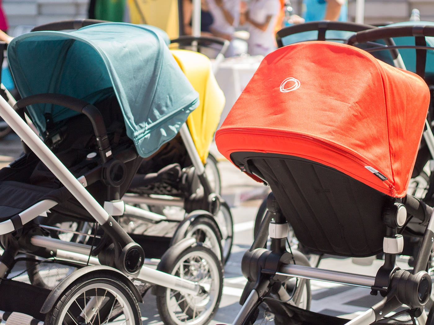 Babyton, carrera familiar con carritos en Alcobendas. Bugaboo Runner