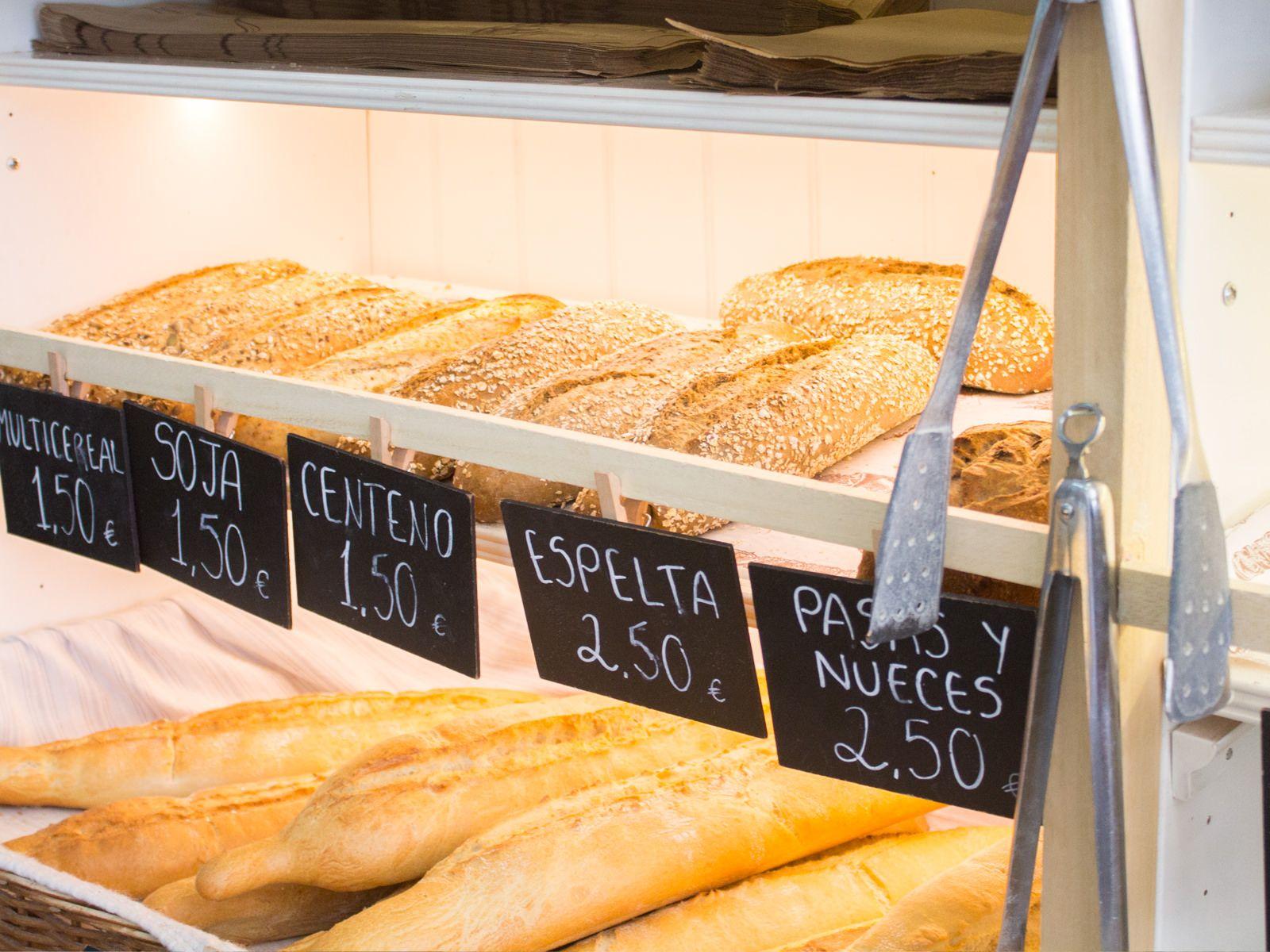 Garten True Food, panadería