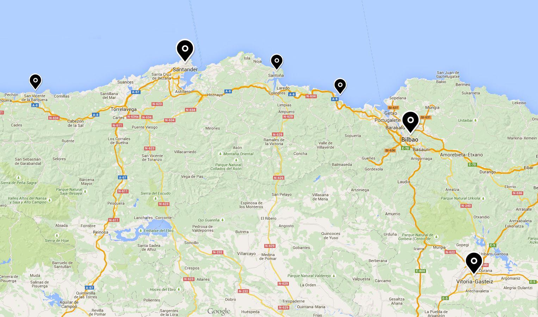 Una ruta de cuatro días por el norte con niños