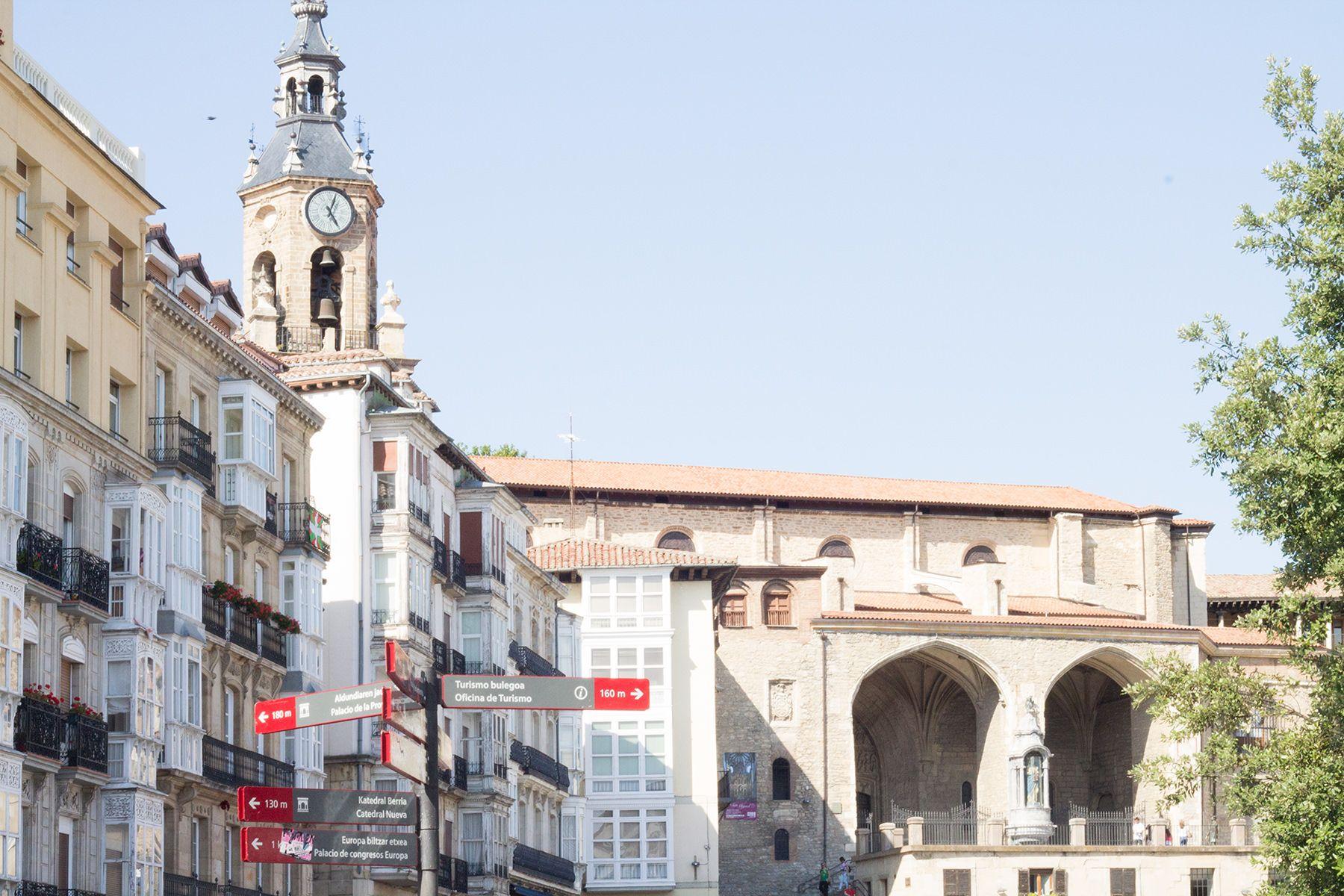 Una ruta de cuatro días por el norte con niños. Vitoria-Gasteiz