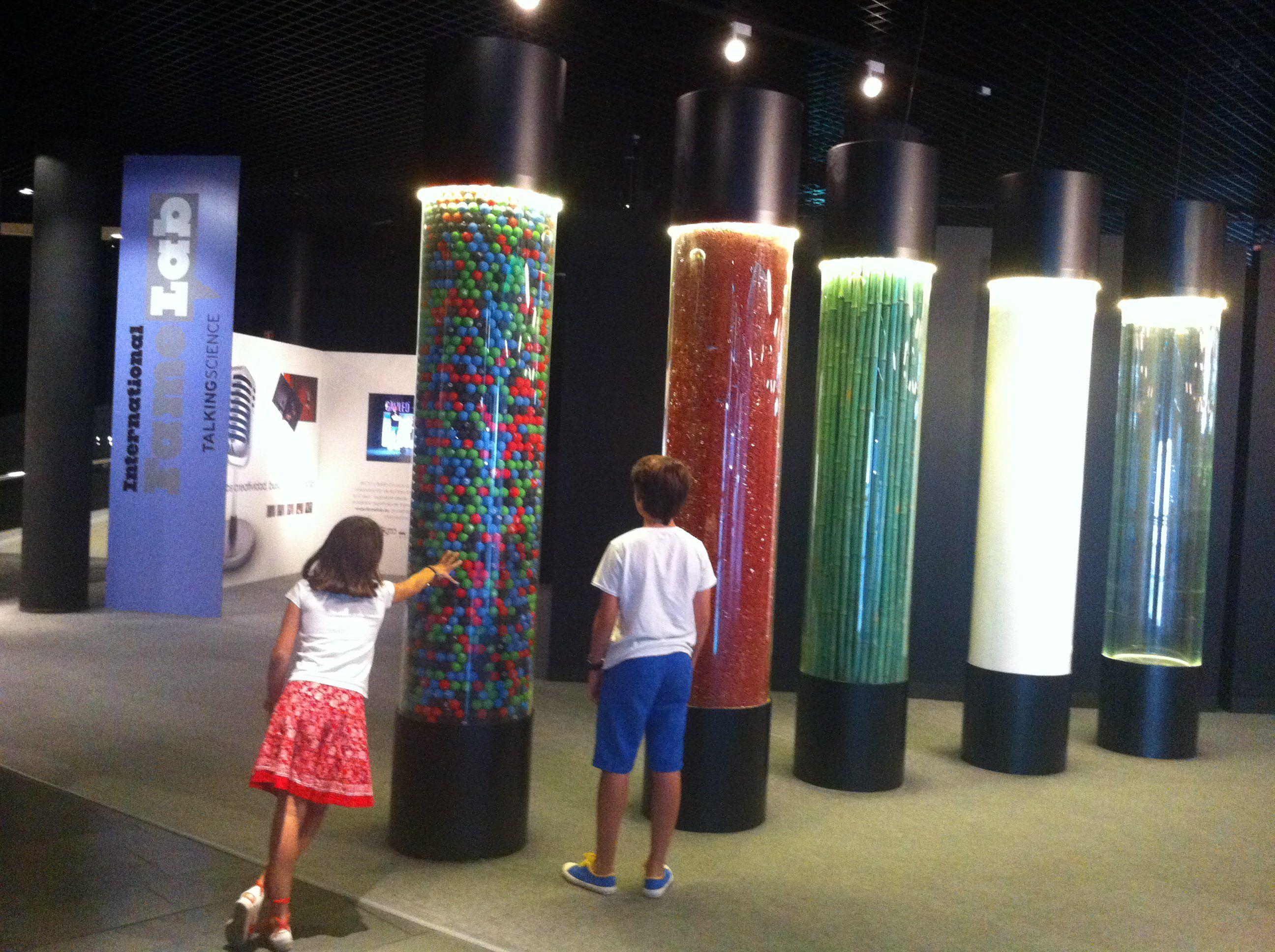 Una tarde divertida en el Museo Nacional de Ciencia y Tecnología en Alcobendas