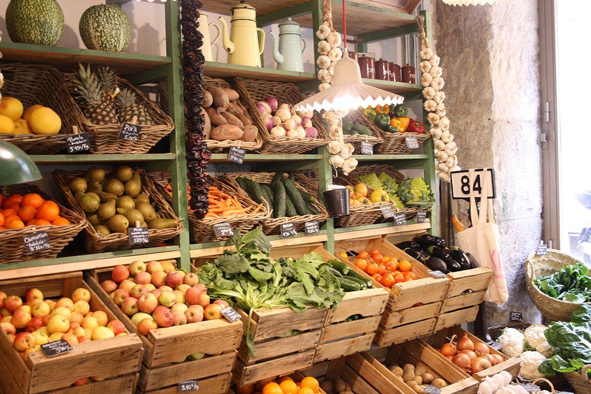 6 tiendas para comprar fruta y verdura eco en madrid - Decoracion de bodegas y merenderos ...