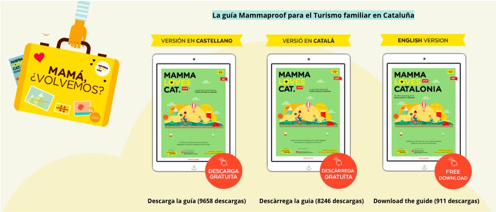 Guía Mammalovescat turismo familiar Cataluña