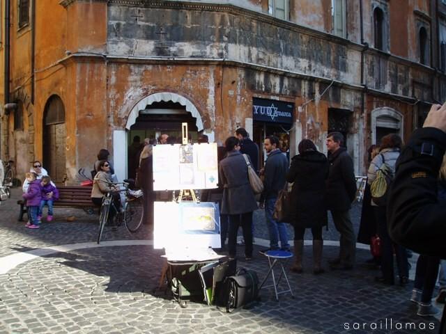 Boccione Navidad Mmmp en Roma: de paseo por el Ghetto Ebraico