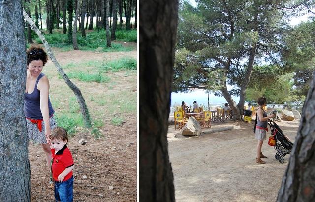 Caseta Migdia Sarah y Teo La Caseta del Migdia: barbacoa, bosque y vistas al mar sin salir de Barcelona