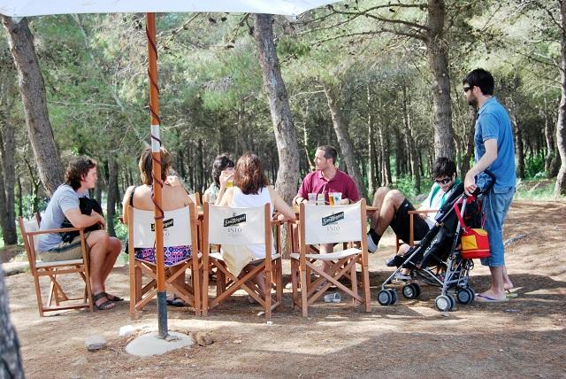 Caseta Migdia tribu La Caseta del Migdia: barbacoa, bosque y vistas al mar sin salir de Barcelona
