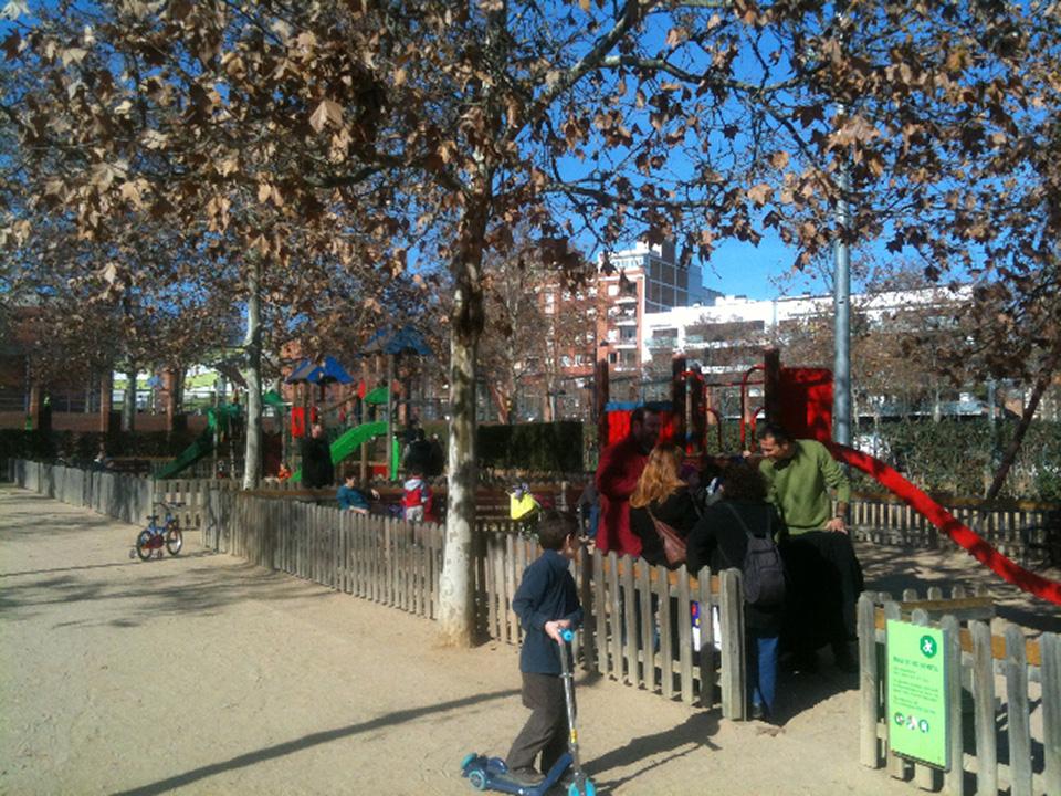 El parc de la pegaso en sant andreu - Barrio de sant andreu ...