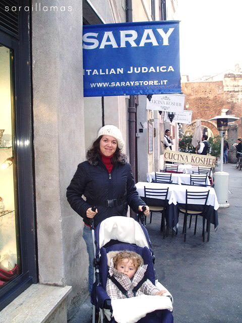 ghetto Navidad Mmmp en Roma: de paseo por el Ghetto Ebraico