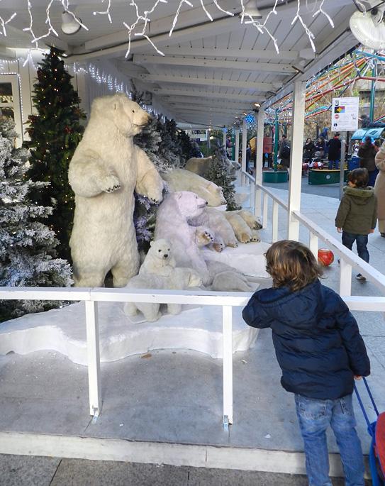 figura de oso polar
