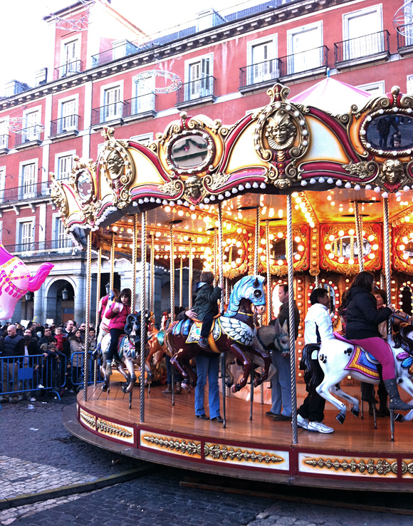 carrousel plaza mayor