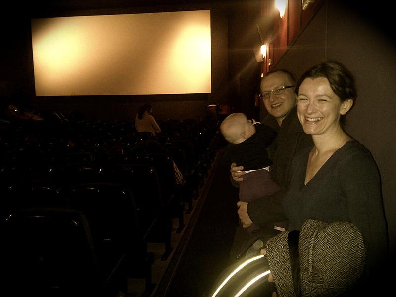 imogen sesiones familiares  de cine con bebes