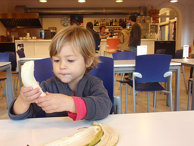 Emma come un plátano
