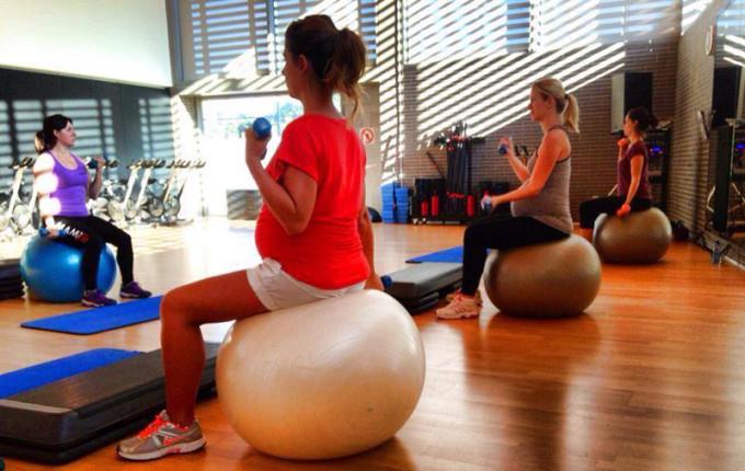 gimnasia para embarazadas barcelona