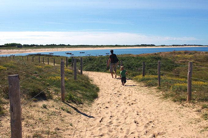 caminos playa