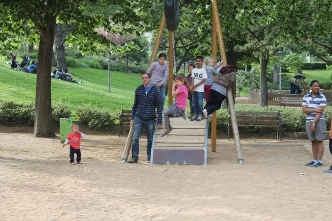zona infantil parque cervantes