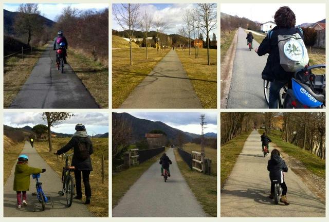 ruta del ferro en bici
