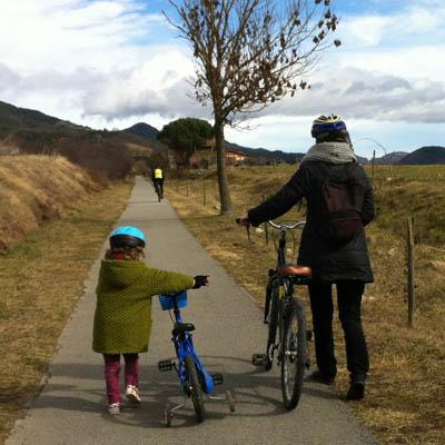 ruta del ferro bicicleta