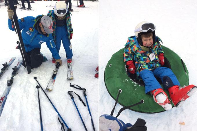 esquí en espot