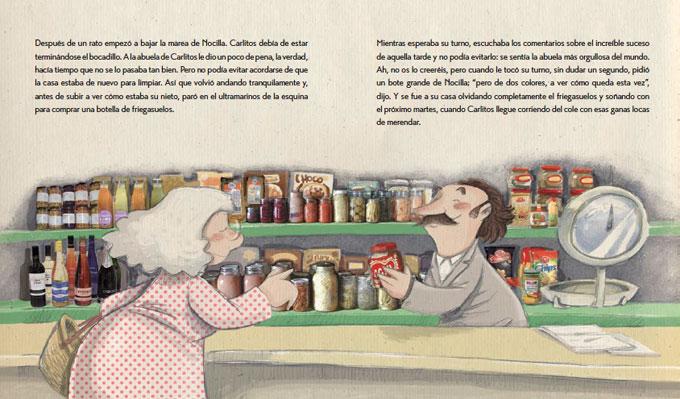 El bote de nocilla, escrito por Noelia Terrer e ilustrado por Subi.