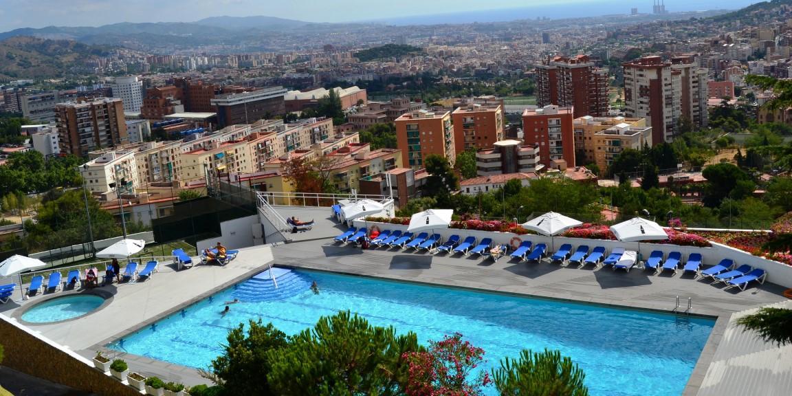 piscina barcelona vallparc