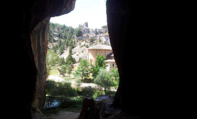 Vista desde Cueva Cañon del Rio Lobos