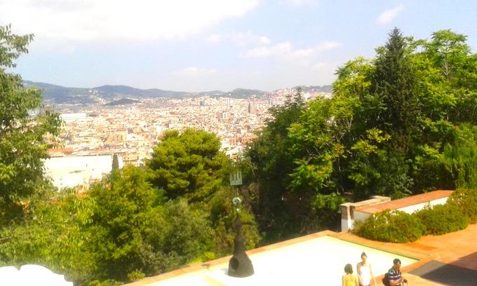 Fundació Miró. Vistas desde la terraza.jpg