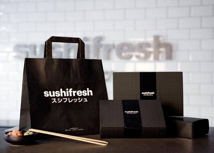 sushifresh packaging
