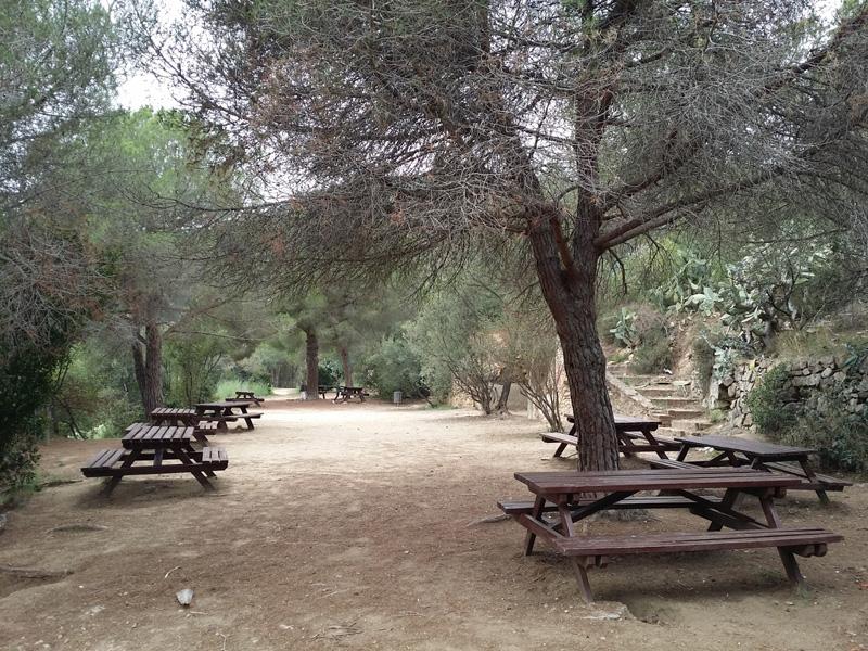 zona picnic parc oreneta