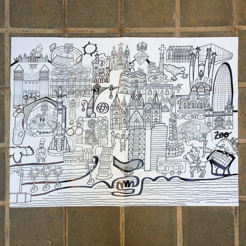Murales para colorear y aprender [Sorteo cerrado] - Mammaproof Barcelona