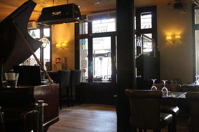 restaurante rossini interior