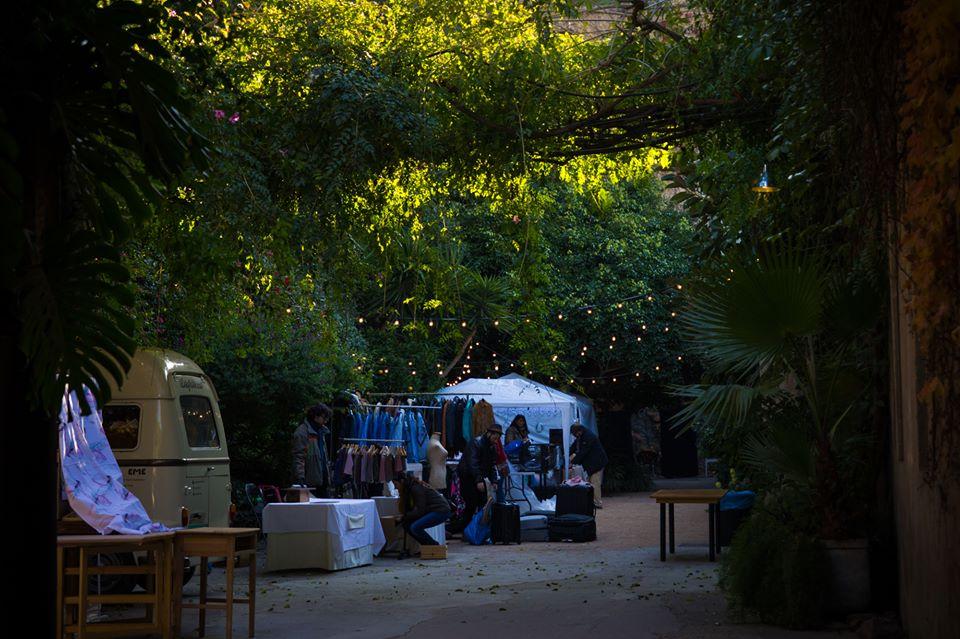 palo alto market de dia Palo Alto Market: diseño, talleres, comida y buen rollo.