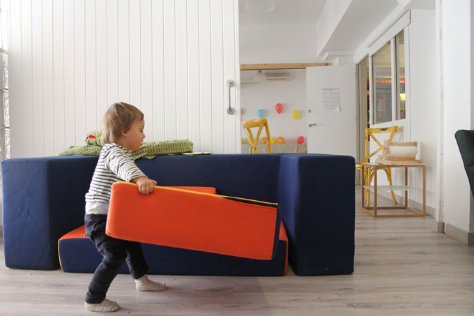 Umoon sofa modular baby fun