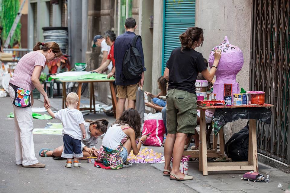 fiestas de gracia decoracion calles