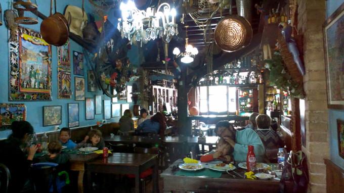 comedor restaurante angelets viladrau