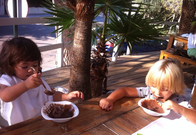 club house sitges helado