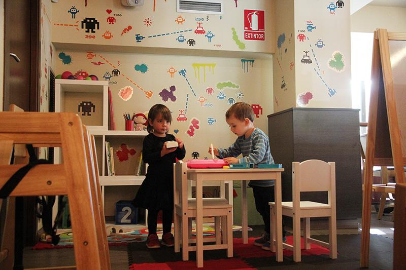 suarna, restaurante para niños en Barcelona