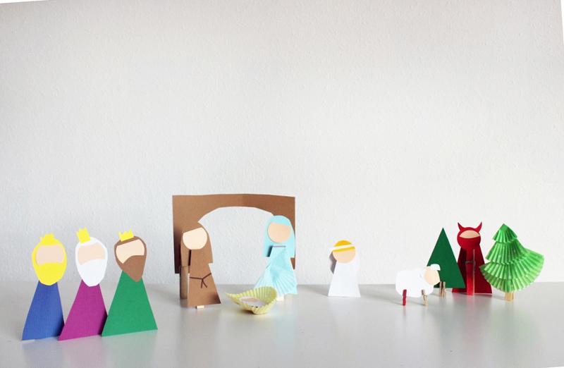 Manualidades navideñas: armemos el Belén - Mammaproof Barcelona