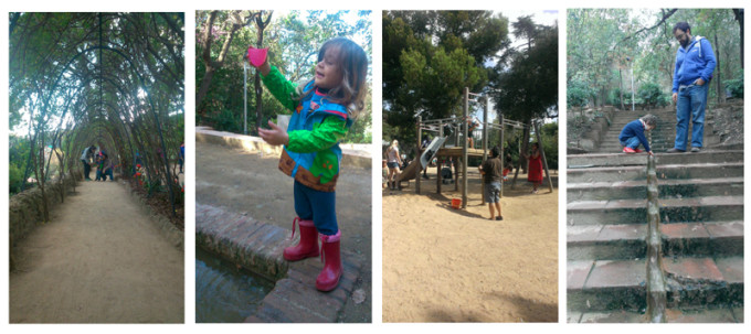 juegos infantiles park guell