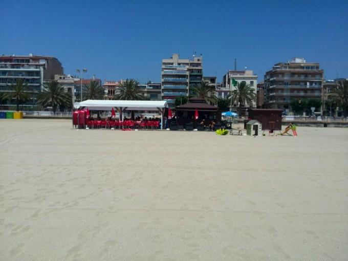chiringuito bambú playa Ocata-El Masnou