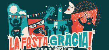 cartell festa major gracia 2016