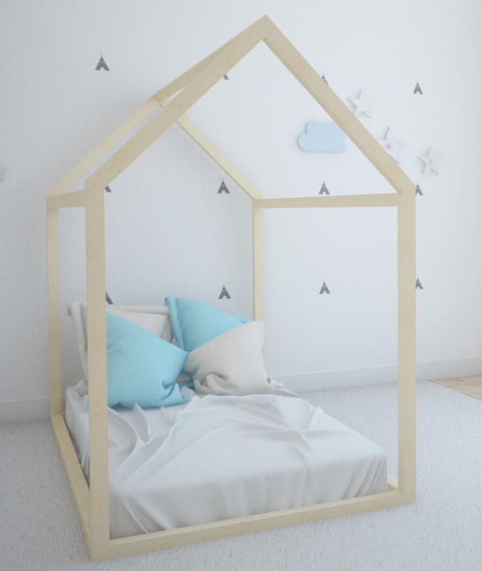 La cama-casita Montessori