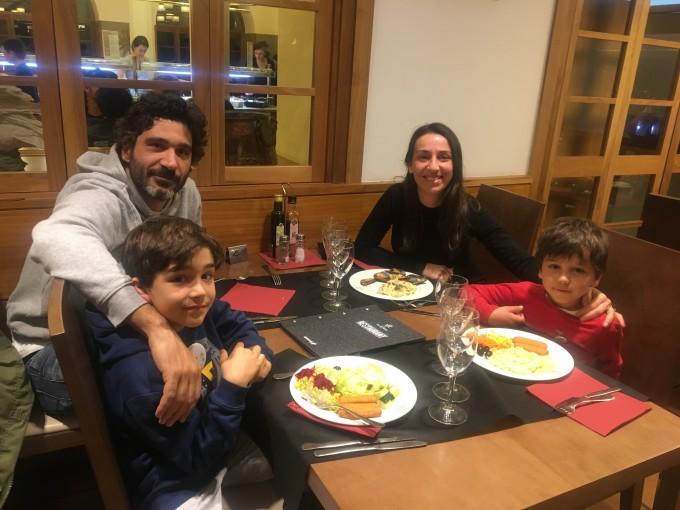 Cena en el Restaurante del Hotel Vall de Núria
