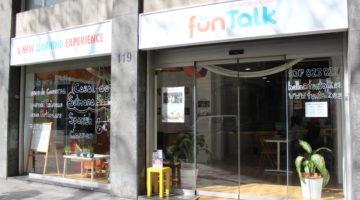 Fun Talk_escuela de idiomas_entrada