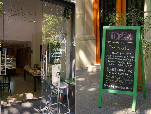 tonka menu Tonka: deliciosos pasteles y domingos de brunch con buffet libre, en el barrio de Sant Antoni